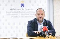 El Consejero de Transición Ecológica del Gobierno de Canarias expone en el Parlamento Canario las ventajas de pertenecer al Corredor Biológico Mundial.