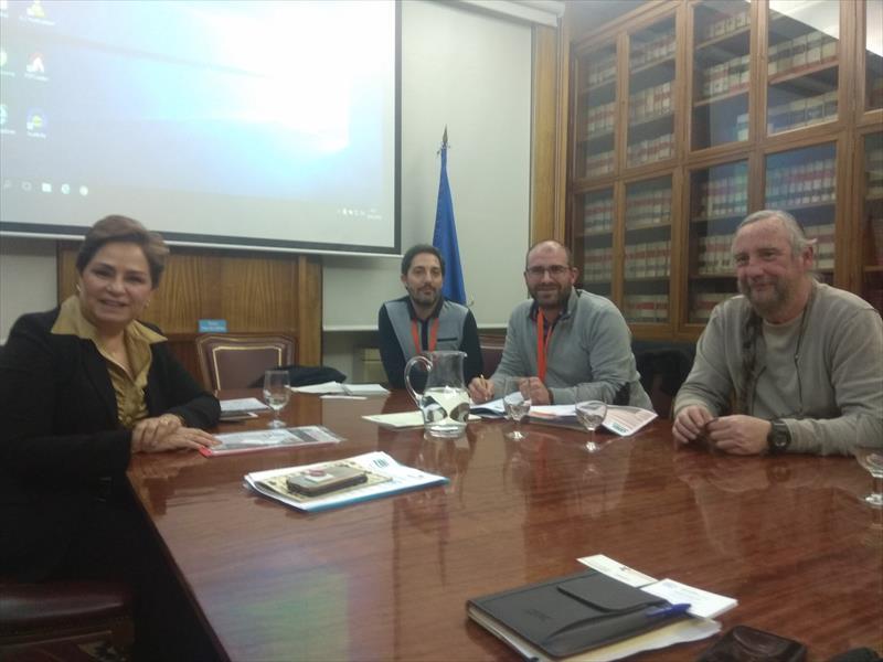 Reunión del Comité Internacional del corredor biológico mundial con Patricia Espinosa Alta Ejecutiva de Cambio Climatico de Naciones Unidas